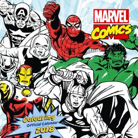 marvel colour in calendar