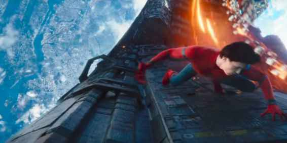 Spider-Man in space
