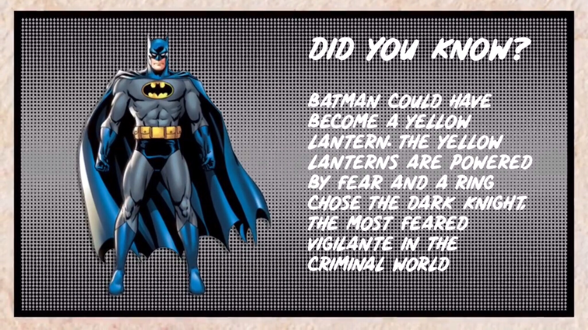 Fact Friday Episode 3 - Batman